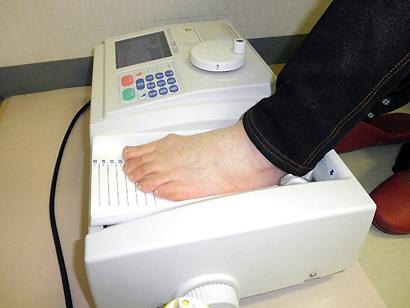 超音波骨密度測定器